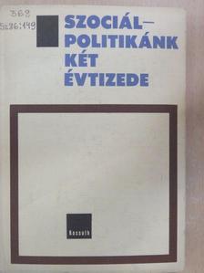 Dr. Bartos István - Szociálpolitikánk két évtizede [antikvár]