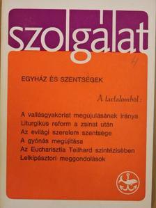 Alszeghy Zoltán - Szolgálat 1969. Karácsony [antikvár]