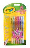 Crayola 6 Csillámos Zselés tollak