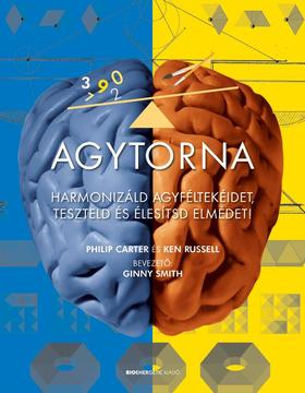 Philip Carter és Ken Russel - Agytorna - Harmonizáld agyféltekéidet, teszteld és élesítsd elmédet!