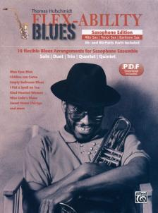 HUFSCHMIDT, THOMAS - FLEX-ABILITY BLUES. RHYTHM SECTION, PDF DOWNLOAD INCLUDED