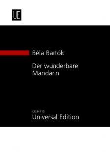 Bartók Béla - DER WUNDERBARE MANDARIN STUDIENPARTITUR