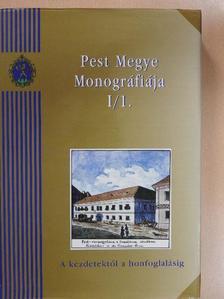 Bondár Mária - Pest Megye Monográfiája I/1. [antikvár]