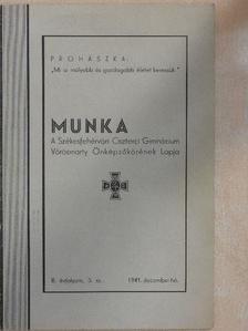 Dékány Endre - Munka 1941. december [antikvár]