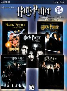 SELECTIONS FROM HARRY POTTER FOR CLARINET (LEVEL 2-3) WITH CD
