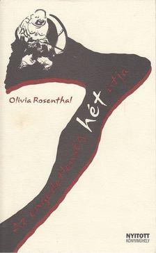 Olivia Rosenthal - Az engedetlenség hét útja [antikvár]