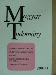Balogh Tamás - Magyar Tudomány 2001. március [antikvár]