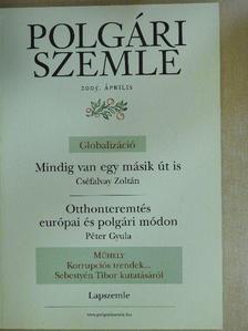 Cserépfalvy Zoltán - Polgári Szemle 2005/3. [antikvár]