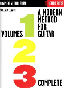LEAVITT, WILLIAM - A MODERN METHOD FOR GUITAR VOLUMES 1-2-3