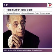 Bach - RUDOLF SERKIN PLAYS BACH 3CD