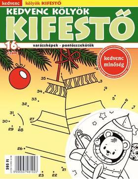 CSOSCH KIADÓ - Kedvenc Kölyök Kifestő 16.