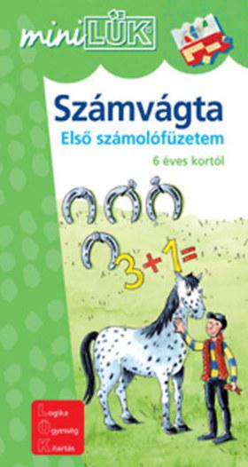 LDI-217 SZÁMVÁGTA ELSŐ SZÁMOLÓFÜZETEM 6 ÉVES KORTÓL