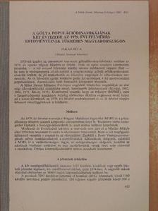 Jakab Béla - A gólya populációdinamikájának két évtizede az 1979. évi felmérés eredményeinek tükrében Magyarországon [antikvár]