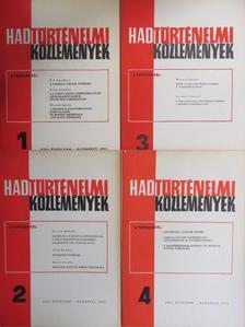 Ács Tibor - Hadtörténelmi Közlemények 1975/1-4. [antikvár]