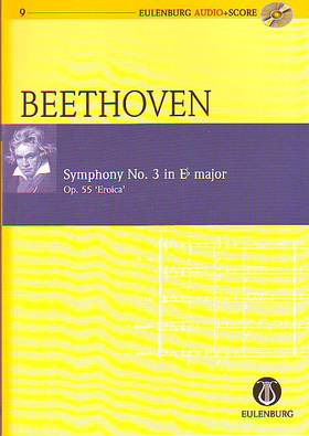 BEETHOVEN - SYMPHONY NO.3 IN Eb MAJOR OP.55 `EROICA` STUDY SCORE + CD (R.CLARKE)