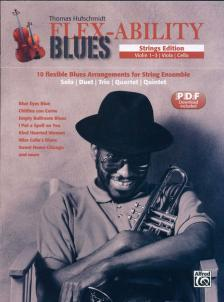 HUFSCHMIDT, THOMAS - FLEX-ABILITY BLUES.STRINGS EDITION, PDF DOWNLOAD INCLUDED