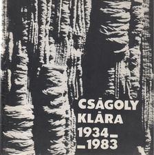 Horváth Ferenc - Cságoly Klára 1934-1983 emlékkiállítás [antikvár]