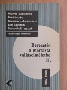 Gecse Gusztáv - Bevezetés a marxista valláselméletbe II. [antikvár]