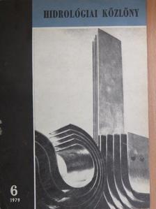 Dévény István - Hidrológiai Közlöny 1979. június [antikvár]