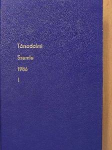 Ábrahám Kálmán - Társadalmi Szemle 1986. január-június I.  [antikvár]