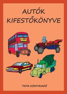 Bánlaky Anna Janka - Autók kifestőkönyve