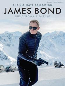 JAMES BOND. THE ULTIMATE COLLECTION PIANO / VOICE / GUITAR, MUSIC FROM ALL 24 FILMS