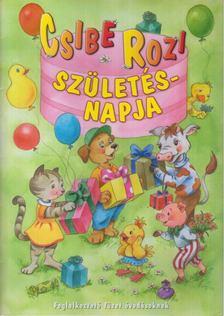 MAROS EDIT - Csibe Rozi születésnapja [antikvár]