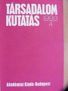 Balázs Zoltán - Társadalomkutatás 1993/4. [antikvár]
