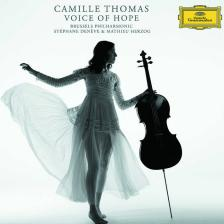 RAVEL. GLUCK, PURCELL, SAY, BRUCH - VOICE OF HOPE CD CAMOLLE THOMAS