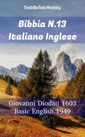 TruthBeTold Ministry, Joern Andre Halseth, Giovanni Diodati - Bibbia N.13 Italiano Inglese [eKönyv: epub, mobi]