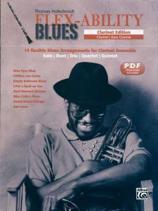 HUFSCHMIDT, THOMAS - FLEX-ABILITY BLUES. FLUTE EDITION, PDF DOWNLOAD INCLUDED