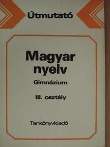 Honti Mária - Magyar nyelv [antikvár]