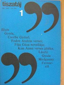Ablonczy László - Tiszatáj 1981. január [antikvár]