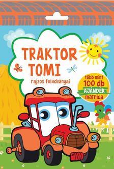 Szalay Könyvkiadó - Traktor Tomi - Rajzos feladványai - Több mint 100 db ajándék matrica