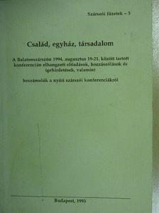 Ablonczy Zsolt - Család, egyház, társadalom [antikvár]