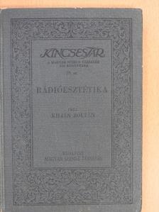 Kilián Zoltán - Rádióesztétika [antikvár]