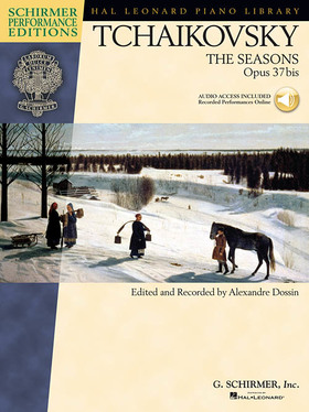 CSAJKOVSZKIJ / TCHAIKOVSKY - THE SEASONS OP.37 BIS, CD INCLUDED