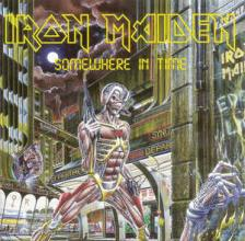 Iron Maiden - SOMEWHERE IN TIME CD IRON MAIDEN - REMASTERED