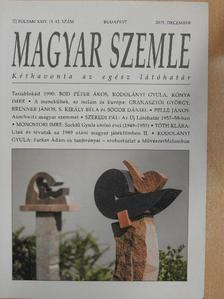 Antall József - Magyar Szemle 2015. december [antikvár]