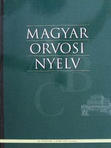 Bősze Péter - Magyar Orvosi Nyelv 2003. december [antikvár]