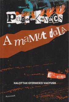 Para-Kovács Imre - A mamut dala [antikvár]