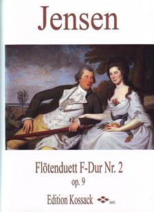 JENSEN - FLÖTENDUETT F-DUR NR.2 OP.9