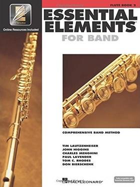 LAUTZENHEISER, HIGGINS, MENGHINI - ESSENTIAL ELEMENTS 2000 FLUTE BOOK 2 PLUS CD