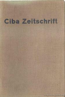 Ciba Zeitschrift 1937 aug.-1938 jul. [antikvár]