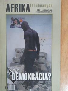 A. Gergely András - Afrika Tanulmányok 2007/1. [antikvár]