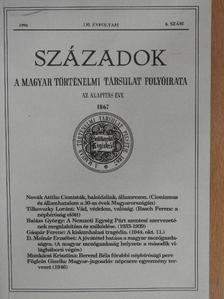 Balázs György - Századok 1996/6. [antikvár]