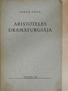Staud Géza - Aristoteles dramaturgiája [antikvár]