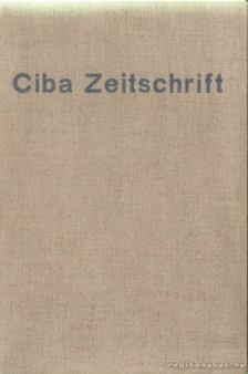 Ciba Zeitschrift 1938 aug.-1939 jul/aug [antikvár]