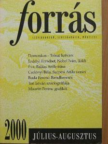 Balázs Attila - Forrás 2000. július-augusztus [antikvár]