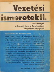 Czabán János - Vezetési ismeretek II. [antikvár]